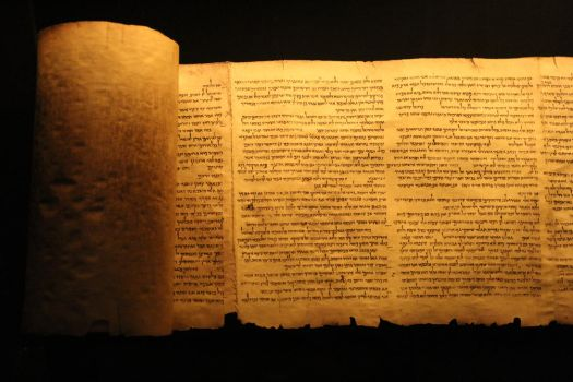 A Dead Sea Scroll by persomatey