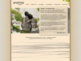Web Design 5 Aramsa Spas by mujiri