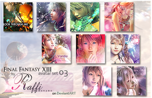 Final Fantasy XIII avaset 03 by Raffi-nyaunyau