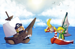 Pirate Encounter[Candle Cove X Zelda] by lucie45