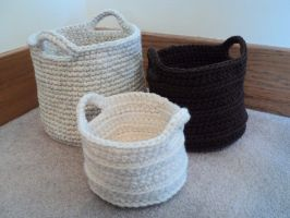 Nesting Baskets by Brookette