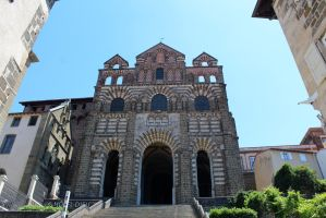 Cathedrale du Puy en Velay - I by Scipia