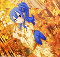 Juvia -Autumn- by AkilaChione