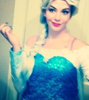 FROZEN Elsa Cosplay 2 by TheyCallMeWicked
