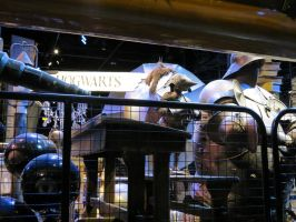 props store at WB studio tour. harrypotter . by Sceptre63