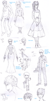 Homestuck Sketchdump by lucy12143