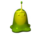 Slime princess HD by KirbytehPink