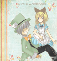Alice in Wonderland by daisukibaka