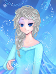 +Elsa - Let it Go+ by larienne