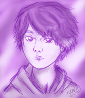 OOR-Tomoya: shades of purple by hkepoetry