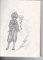 My Super Saiyan FADE by BladenCross13