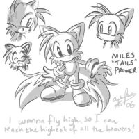 Its freaking Tails :D by ojamajodoremidokkan