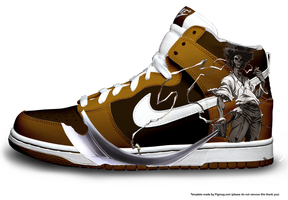 Samurai Dunks by K2T-designs