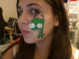 Experiment with Face paint 1 by Death-By-Insanity