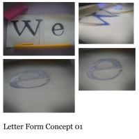 Letter form cocept by Kip0130