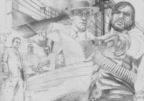 Rockstar Games SKETCH by Yankeestyle94