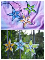 Kingdom Hearts Birth By Sleep Wayfinders by AnyShapeNecklaces