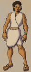 Shul the Neolithic War-Chief by BrandonSPilcher
