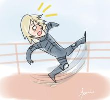 MGS2: Raiden Slipping by WithSkechers
