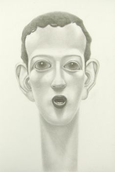 mark zuckerberg by PeteHamilton