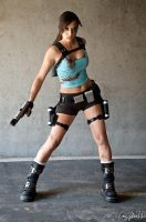 Lara Croft 1 by illyne