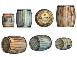 Barrels PNG Stock by Jumpfer-Stock