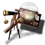 Steampunk Icon for TeamViewer / Remote Desktop by yereverluvinuncleber