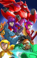 Big Hero 6 fan art by SemajZ