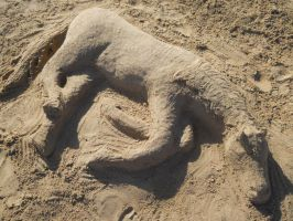 Sand Horse by DragonThemes