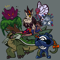 group picture by Dandebird