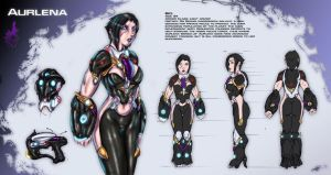 Aurlena Character Sheet [OUTDATED] by Ultamisia