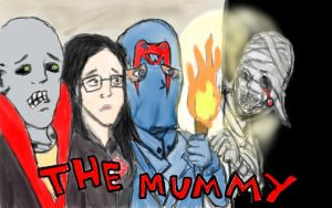 The Mummy (front cover idea) by ShadowChaser12