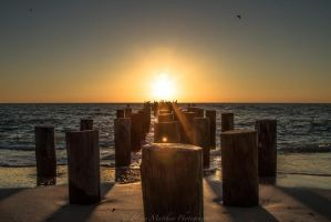Naples Sunset by BrianMPhotography