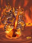 Sulfuras, the Hand of Ragnaros by pulyx