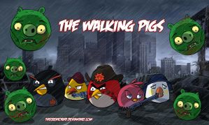 The Walking Dead Birds by thecreatorhd