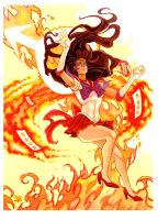 Sailor Mars Colors by RobertDanielRyan