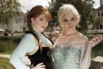 Anna and Elsa Cosplay by RedutaCosplay