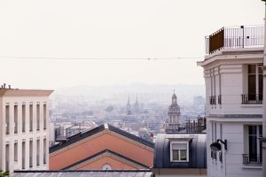 paris from montmartre by KatherineZe