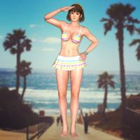 Hitomi(Hot Summer) Dead or Alive 5 Last Round by XKamsonX