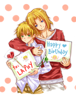 FRxUK: HBD LAPHY by arielucia