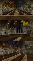 An Inaccurate Hogwarts: The Great Hall by Ictoan12
