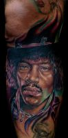 the jimmy hendrix by tat2istcecil
