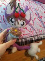 Pancake Aipom Plush by Vulpes-Canis