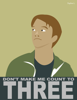 Troy Wagner- Don't make me Count to Three by TwitchyHooligan