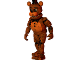 Withered Freddy Walk Cycle by SterlingFM