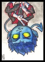 Lil Nightcrawler Sketchcard by lordmesa