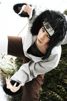 Naruto: Cosplay Kiba Inuzuka by ZombieFolf