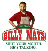 BILLY MAYS THE MAN by MichaelKnouff