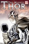 Thor sketch cover by DanielGovar