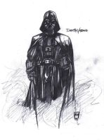 Darth Vader by Pencil-Prophet